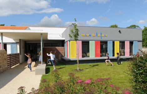 Maison de l'enfance de Saint Georges du Bois