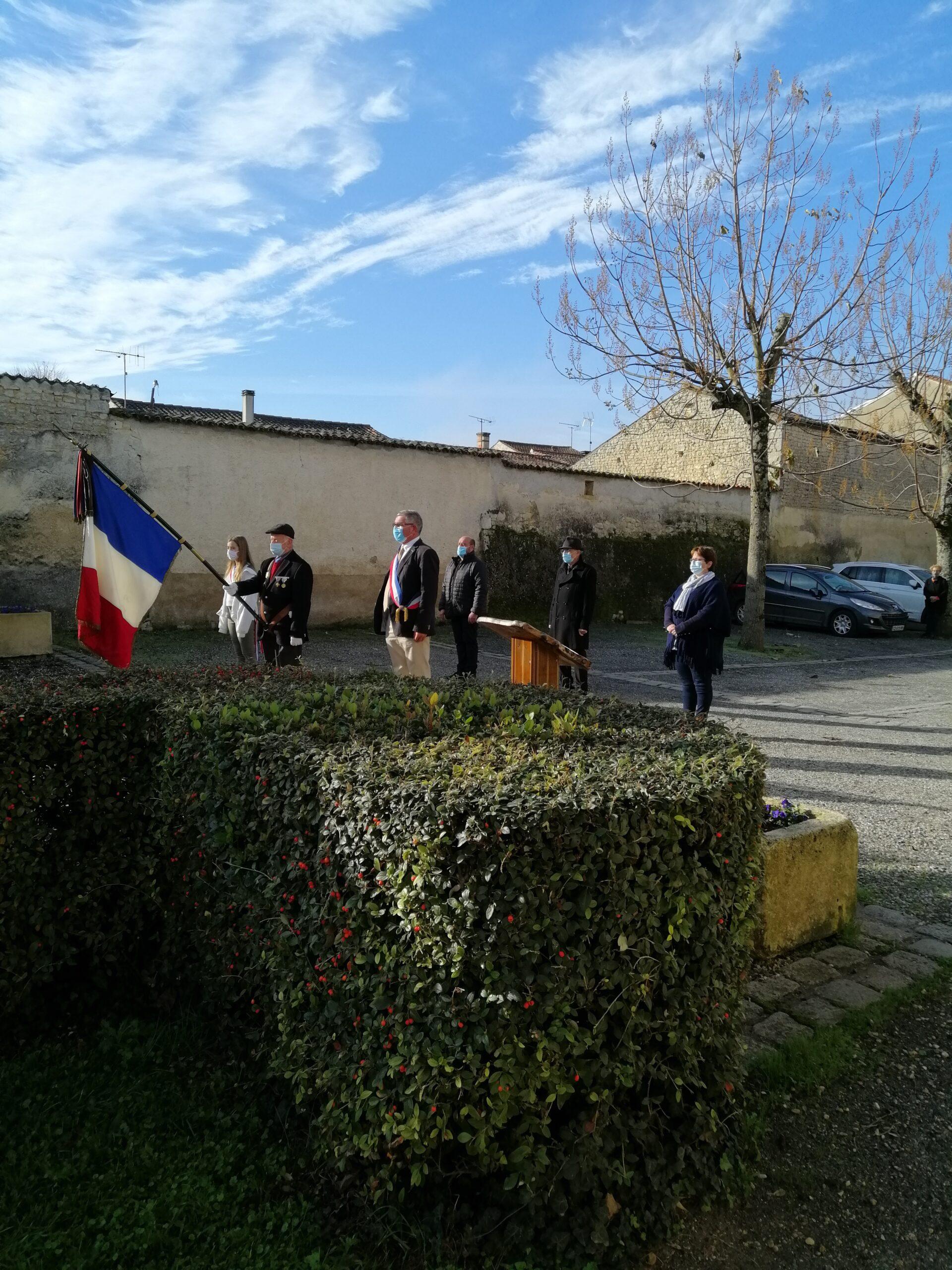 11 novembre, armistice avec le maire et les élus